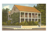 Bahama House, Key West, Florida Poster