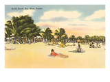 South Beach, Key West, Florida Poster