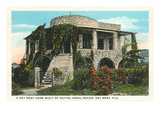 Coral House, Key West, Florida Poster