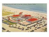 Piscine et Casino, Sarasota, Floride Posters