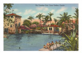 Venetian Poll, Coral Gables, Florida Posters