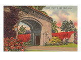 Alhambra Entrance, Coral Gables, Florida Poster
