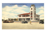 Life Guard Station, Jacksonville, Florida Posters