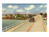 Bridge to Key West, Florida Print