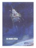 Soviet Space Capsule Poster