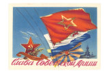 Russian Flags Posters