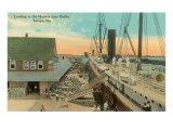 Mallory Line Docks, Tampa, Florida Poster