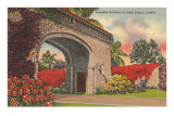 Alhambra Entrance, Coral Gables, Florida Posters