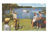Golf Course, Florida Poster