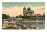 Notre Dame, Paris, France Print