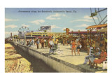 Boardwalk, Jacksonville, Florida Kunstdruck