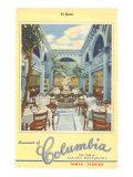Columbia Restaurant, Tampa, Florida Print
