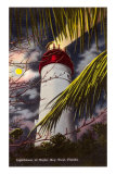 Lighthouse, Key West, Florida Posters