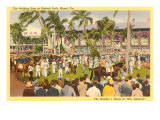 Hialeah Race Track, Florida Posters