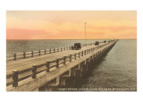 Gandy Bridge, Tampa Bay, Florida Posters
