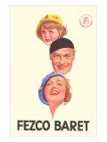 Fezco Beret Poster