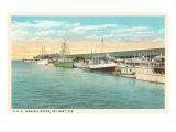 Docks, Key West, Florida Posters