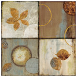 Circle Leaf Patterns II Prints by Jenny Siekmann