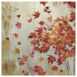 Crimson Foliage Art by Asia Jensen