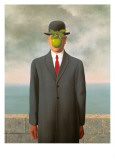 Le fils de l&#39;homme, 1964 Affiches par Rene Magritte