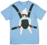 Kauhea kankkunen - Baby Bjorn T-paita