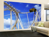 Batman the Escape Rollercoaster, Astroworld, Houston, Texas, USA Wall Mural – Large