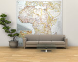 1943 Africa Map Wall Mural – Large by  National Geographic Maps