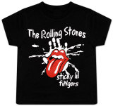 Toddler: The Rolling Stones - Sticky Little Fingers T-shirts