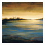 Stewart Lake at Dawn II Lámina giclée por C.W. Scott