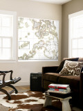 1902 Philippines Military Telegraph Lines South Map Wall Mural
