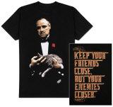 The Godfather - Keep Your Friends Close, But Your Enemies Closer T-Shirts