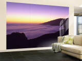Big Sur at Dusk, Marine Layer, Big Sur, California, USA Wall Mural – Large