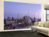 Aerial View of the City at Dusk, Phoenix, Arizona, USA Wall Mural – Large