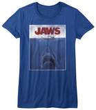 Juniors: Jaws - Poster T-Shirt