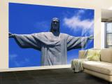 Christ the Redeemer Statue, Corcovado, Rio de Janeiro, Brazil Wall Mural – Large