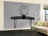 Black and White, Basketball Hoop Reproduction murale XXL