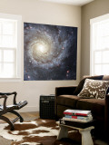 Spiral Galaxy Messier 74 Wall Mural