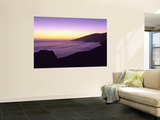 Big Sur at Dusk, Marine Layer, Big Sur, California, USA Wall Mural