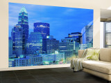 Charlotte, North Carolina, USA Wall Mural  Large