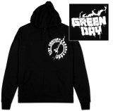 Zip Hoodie: Green Day - Molotov Hettejakke
