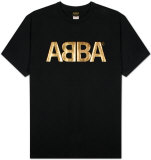 ABBA - Gold Logo T-shirts