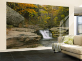 Kaaterskill Falls, Catskill Mountains, New York State, USA Wall Mural – Large