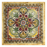 Italian Tile III Reproduction proc&#233;d&#233; gicl&#233;e par Ruth Franks
