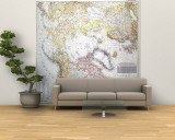 1949 Top of the World Map Wall Mural – Large by  National Geographic Maps