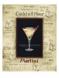 Martini Premium Giclée-tryk af Gregory Gorham