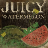 Juicy Watermelon Posters by Jennifer Pugh