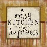 Messy Kitchen Poster von Jennifer Pugh