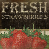 Fresh Strawberries Posters tekijänä Jennifer Pugh