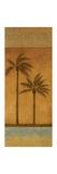 Golden Palm II Premium Giclee Print by Jordan Gray