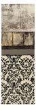 Nature's Damask Panel II Premium Giclee Print by Kime John